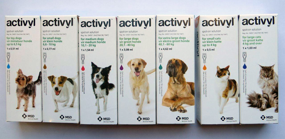 Activyl For Dogs & Cats