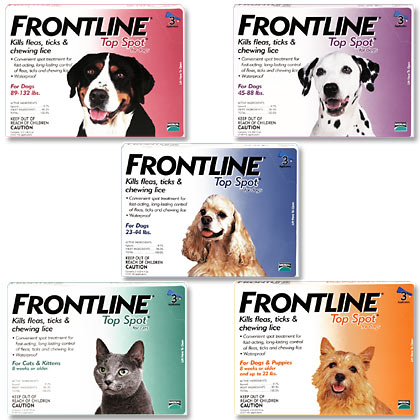 Frontline Top Spot For Dogs & Cats