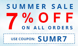 7% Discount on Summer Sales