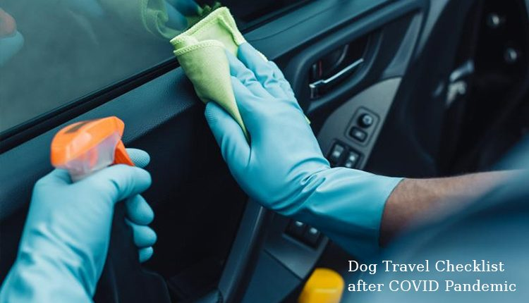Dog Travel Checklist after COVID Pandemic