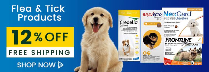 flea and tick preventative for dogs