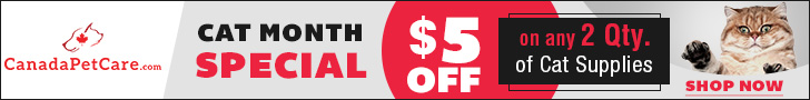 CanadaPetCare September Sale