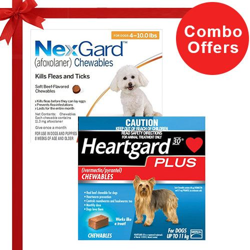 Nexgard  & Heartgard Plus Combo