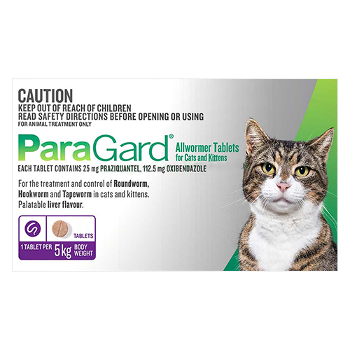 Paragard Wormer for Cats