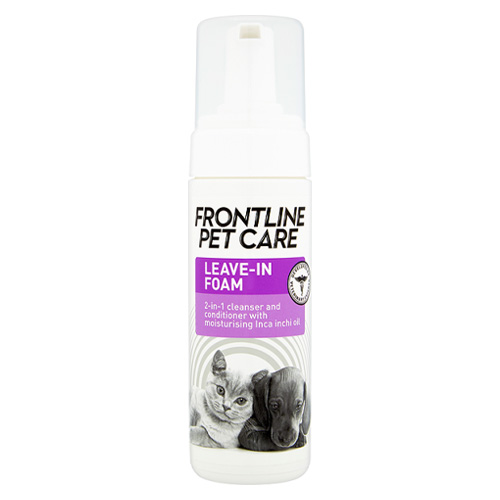 Frontline Pet Care Leave-In Foam for Dogs & Cats