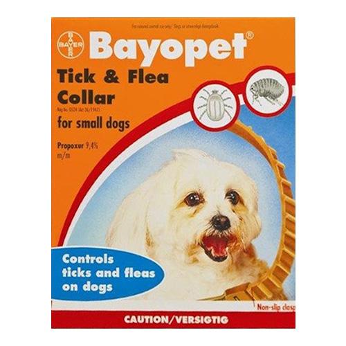 Bayopet Tick and Flea Collar for Small Dogs