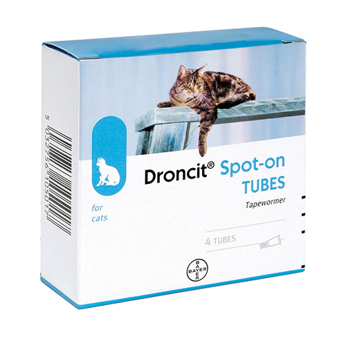 Droncit Spot-On for Cats