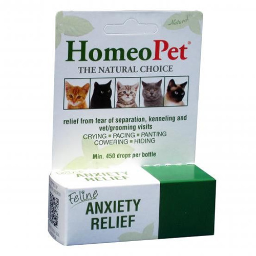 Feline Anxiety Relief for Homeopathic