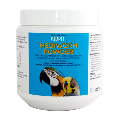 Mediworm Powder for Bird