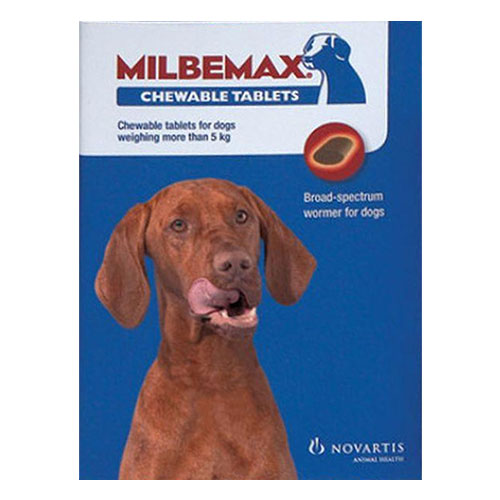 Milbemax Chewable For Large Dogs Over 11 lbs.