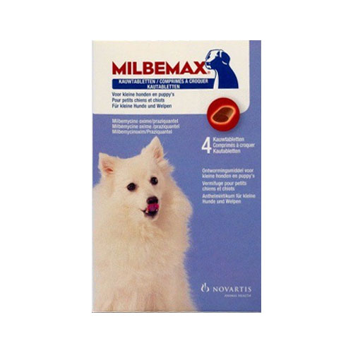Milbemax Chewable For Small Dogs Under 11 lbs