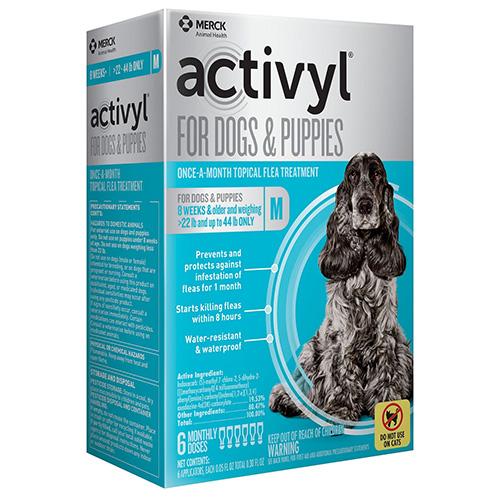 Activyl For Medium Dogs 22 – 44 lbs