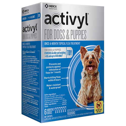 Activyl For Very Small Dogs 4-14 lbs