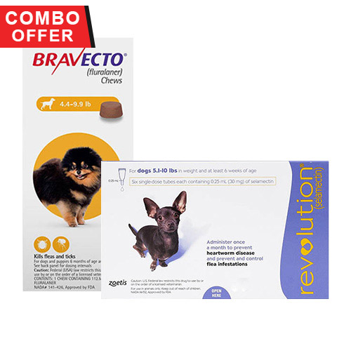 Bravecto + Revolution Combo Pack for Dogs