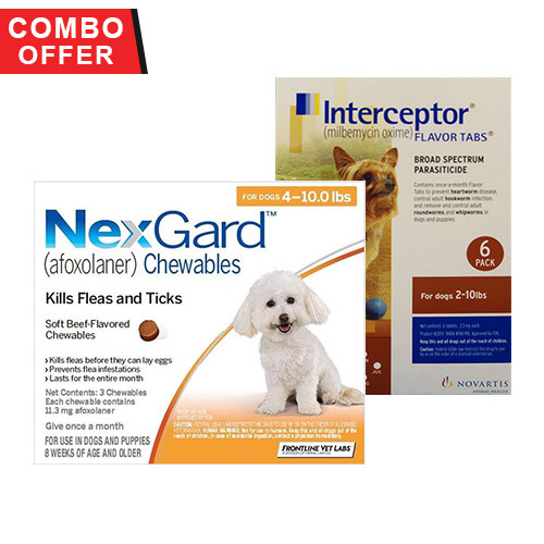 Nexgard & Interceptor Combo Pack for Dogs