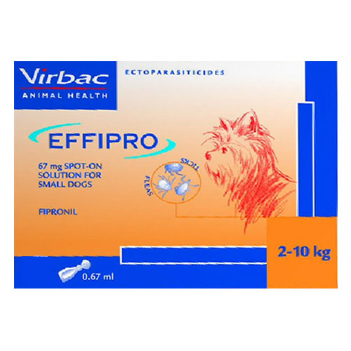 Effipro Spot-On  Small Dogs up to 22 lbs.