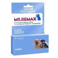 Milbemax Small Dog Under 5 Kgs