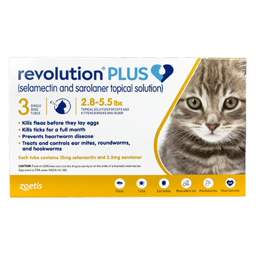 Revolution Plus for Cats