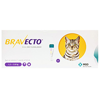 Bravecto Spot On for Small Cats 2