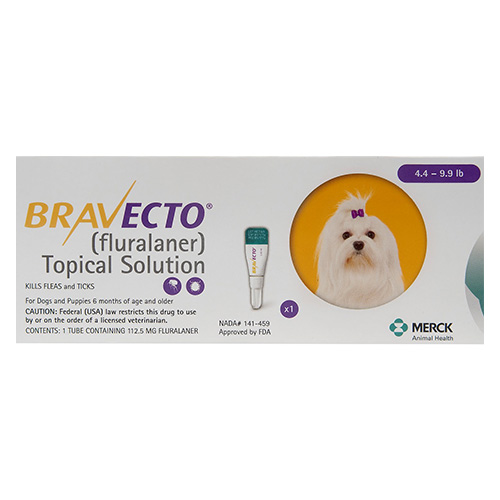 Bravecto Topical for X-Small Dogs (4