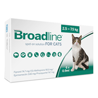 Broadline Spot-On Solution for Large Cats 5