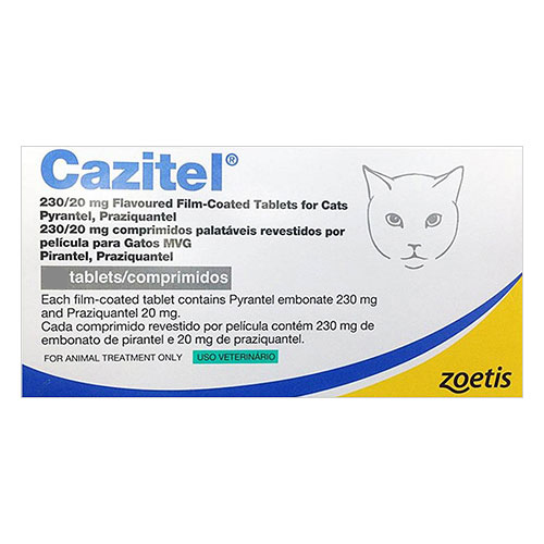 Cazitel Tablets For Cats 1 Tablet