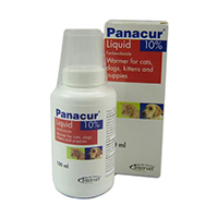 Panacur Oral Suspension For Dogs/Cats 100 Ml