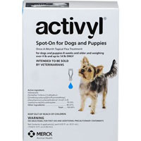 Image of Activyl For Medium Dogs 22 ? 44 lbs Blue 4 Doses
