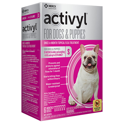 Image of Activyl For Small Dogs 14 ? 22 lbs Orange 4 Doses
