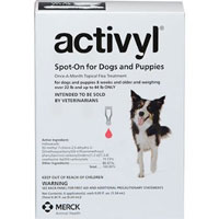 Image of Activyl For Very Small Dogs 4-14 lbs Pink 4 Doses