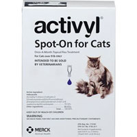 Image of Activyl For Large Cats Over 9lbs Purple 4 Doses