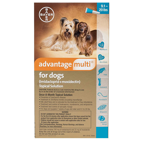 Advantage Multi (Advocate) Medium Dogs 9