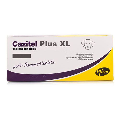 Cazitel Plus Tablets Xl For Large Dogs 1 Tablet