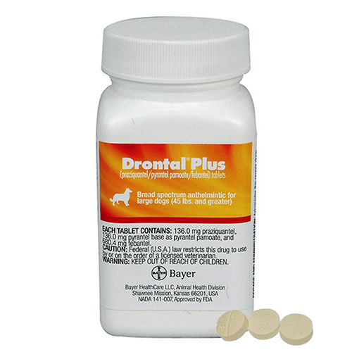 Drontal Plus for Very Small Dogs upto 3kg