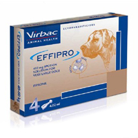 Effipro Spot-On Extra Large Dogs Over 88 Lbs. 4 Pack