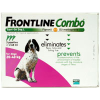 Frontline Plus Combo For Large Dogs 45-88 Lbs Purple 3 Pipette