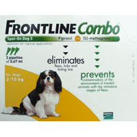 Frontline Plus Combo For Small Dogs Up To 22lbs Orange 3 Pipette