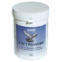 Medpet 4 In 1 Powder 100 Gm 1 Pack