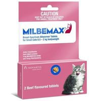 Milbemax  for Cats upto 2Kg