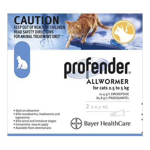 Profender For Cats How Long Does It Last