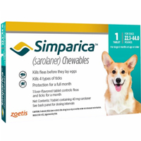 Simparica Chewables for Dogs 22