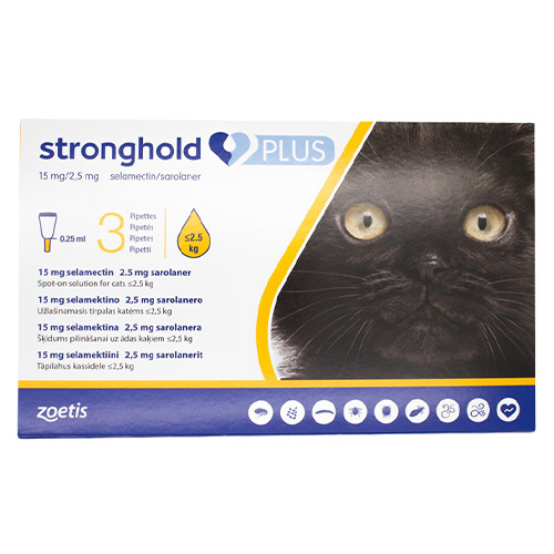 Stronghold Plus for Kittens and Small Cats upto 5