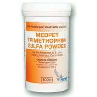 Trimethoprim Sulfa Powder 100 gm