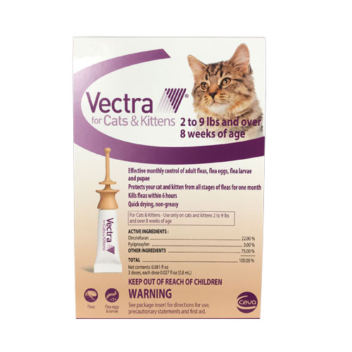 Vectra For Cats 3 Doses