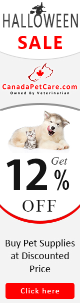 Frankenstein Woke Up From the Dead for This 12% Extra Off Deal + Free Shipping on All Orders! Use Coupon Code: PBCANHAL12 to avail discount now at CanadaPetCare.com