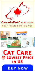 From cat flea and tick treatments to skin care, at Canada Pet Care, we offer an exclusive range of cat supplies. Shop with us any of the cat products at discount rates and save a little more.