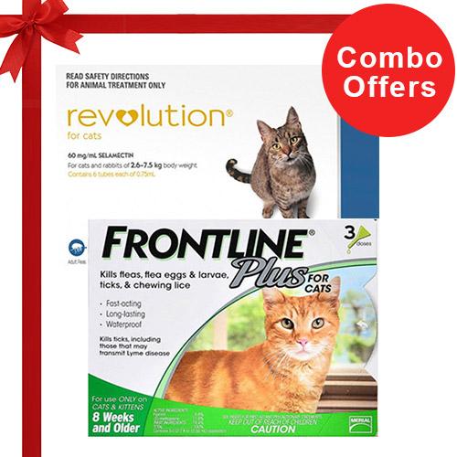 Frontline Plus & Revolution Combo Pack