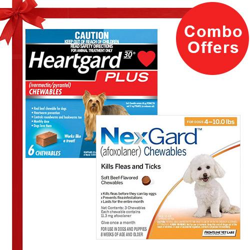 Nexgard  & Heartgard Plus Combo Pack