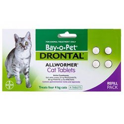 Drontal For Cats Buy Drontal For Cats Online At Lowest